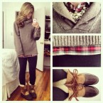 4tcv8o-l-610x610-pullover-plaid-duck+boots-winter-fall-autumn-sweater-jacket-boots-winter+boots-shoes